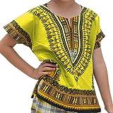 Vovotrade Maglietta di Carnevale di Festival delle Magliette del T delle Parti Superiori della Maglietta dei Bambini africani Unisex della Ragazza del Ragazzo