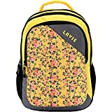 Lavie Synthetic Yellow School Bag (BHEI550076B3)