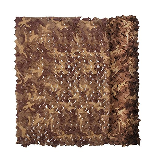 Camouflage Netz für Kinder 3x 2m für den Hide Schlafzimmer Camouflage Net Army Camo Netz Oxford Stoff ideal für Sonnenschutz Zelt Camping Shooting Jagd, Kinder, beige (Desert Stoff Camo)