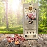 Tiera Gourmet Edelschinken Kauknochen S (4 Stück) | Gesunde Hundeleckerlie Schwein | Italienischer Hundeknochen
