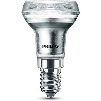 Philips bombilla LED reflectora casquillo fino E14, ángulo de apertura 36º, 1.8 W equivalentes