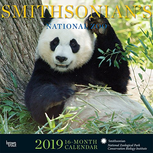 Smithsonian National Zoo 2019 Square Hachette por Inc Browntrout Publishers