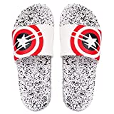 DES TONGS Men's Star Dotted Flip Flop White 10