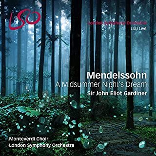 Mendelssohn Bartholdy: A Midsummer Night's Dream (SACD hybrid + Blu-Ray Audio)