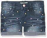 NAME IT Mädchen Nitberna Slim Dnm Shorts Nmt, Blau (Medium Blue Denim), Gr. 134