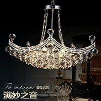 BBSLT Moderna Sala Ristorante lampadario appeso al lampadario di Cristallo di creatività per tipo di Nave - Sfera Nave