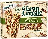 Gran Cereale - Snack Barrette 4 Cereali Mela e Cannella - Colazione e Snack Dolce - 135 gr