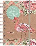"Agenda scolaire ""Flamant rose"" - Spirales - 2016/2017"