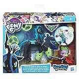 Hasbro- My Little Pony Guardians of Harmony Queen Chrysalis V. Spike The Dragon, Modelli Assortiti, 1 Pezzo, B6009