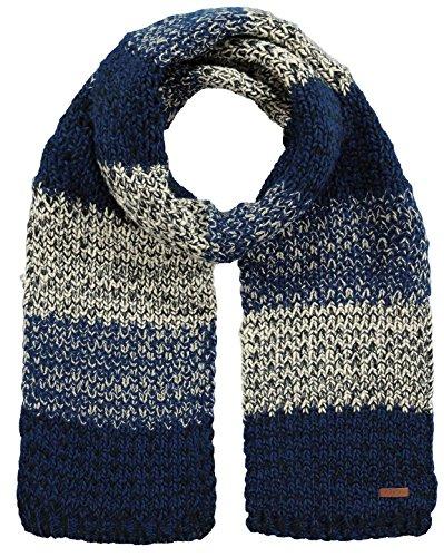 Barts Uomini Sciarpa Uomini Sciarpa Lester Accessori 200x22 cm - selezione di colore: Colour: Dark Blue