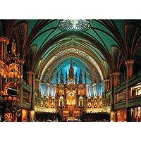 Comparador de precios Tomax Notre Dame De Montreal, Canada 500 Piece Glow-in-the-dark Jigsaw Puzzle by Tomax - precios baratos