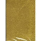 A3 Golden Glitter Eva Foam Pack of 10 sheets