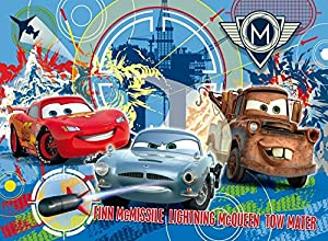 Clementoni - Puzzle con Marco Cars 2 Disney Cars de 15 Piezas (32x12 cm) (22216.2)