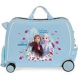 Disney Frozen La Reine des Neiges Trust your journey Valise Enfant Bleu 50x38x20 cms Rigide ABS Serrure à combinaison 38L 2,1