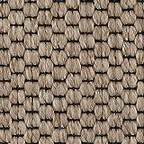 Teppichboden Auslegware | Sisal-Optik Schlinge | 400 und 500 cm Breite | beige | Meterware, verschiedene Größen | Größe: 4 x 5 m