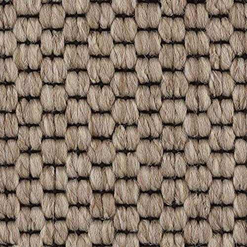 Teppichboden Auslegware | Sisal-Optik Schlinge | 400 und 500 cm Breite | beige | Meterware, verschiedene Größen | Größe: 2 x 4 m