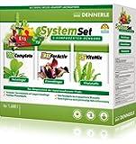 Dennerle 4572 Perfect Plant System Set 3-Komponenten Düngeystem für Aquarienpflanzen, 1600 L
