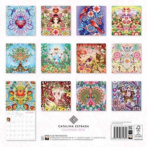 Catalina Estrada Wall Calendar 2016 (Art Calendar)
