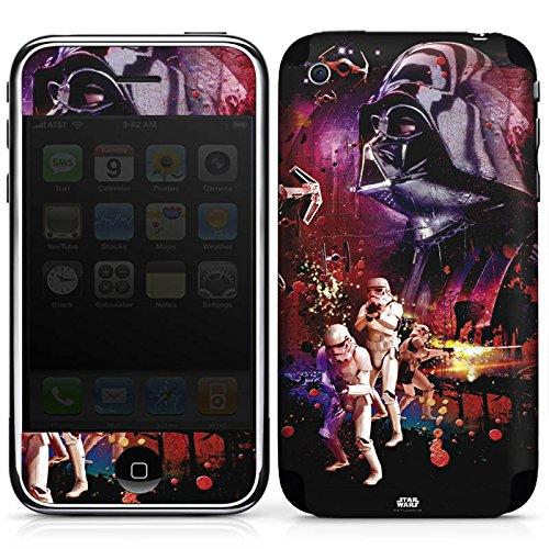 DeinDesign Apple iPhone 3Gs Folie Skin Sticker aus Vinyl-Folie Aufkleber Star Wars Merchandising Pour Supporters Merchandise Fanartikel