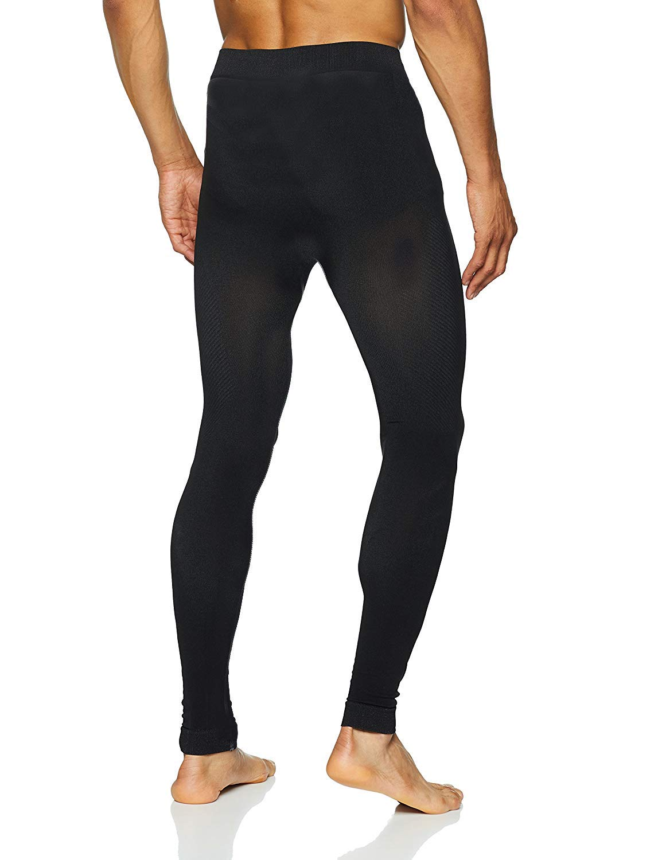 Sundried Collant formazione delle prestazioni maschile per Gym Yoga Sport che fanno funzionare - Mens inverno Leggings 2 spesavip