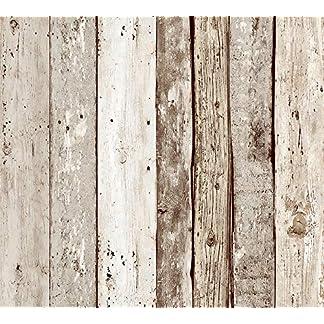 Livingwalls panel autoadhesivo Pop Up Panel beige marrón 2,50 m x 0,35 m 942192
