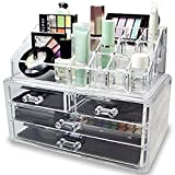 Midmade Acrylic Jewelry & Cosmetic Storage Display Boxes with Drawers