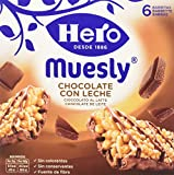 Hero Barrette ai Cereali Muesli Cioccolato - 5 Confezioni da 6 x 25 g