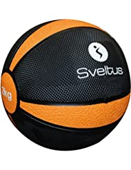 Sveltus pelota de ejercicios naranja 2kg