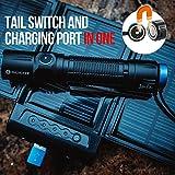 Olight® M2R Warrior LED Taschenlampe taktisch - mit XHP35 HD CW LED, 18650 3500mAh Akku und MCC USB-Magnetladekabel - Max.1500 Lumen - Kaltweiß - 6