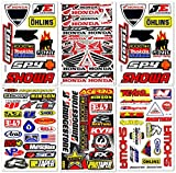 Dirt Bike Dirtbikes Motorrad Motos Motocross Motorcross Bikes Motorex ATV Performance Part Garage Toolbox Racing Pack 6 Vinyl Graphics Aufkleber und Aufkleber Set D6725 Best4Buy