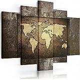 Feeby Frames, Cuadro Grande, Cuadro en lienzo - 5 partes - Cuadro impresión, Cuadro decoración, Canvas XXL () 120x250 cm, Tipo A