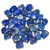 Crocon lapislazzuli lucido naturale in asciugatrice per Reiki guarigione gioielli rendendo decorazione domestica e chakra bilanciamento 1 LB Scarpette a strappo Voltaic 3 Velcro Fade - Bambini