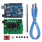 ILS - UNO R3 Board ZUM Scan Shield Expansion Open Source Kit For DIY Ciclop 3D Printer Scanner