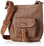 Betty Barclay Damen Bb-1183-ce Umhängetasche, Beige (Caramel), 6x22x22 cm