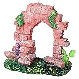 #9: Old Fort gate of Ruins Decorating Item for Aquarium