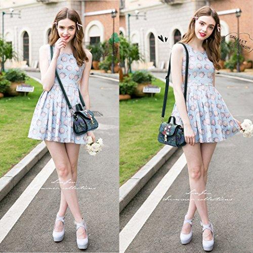 Yaer Fata Della Foresta Ragazze Ms. Borsa a Tracolla Borsetta Zaino Moda Elegante Modello Stile 7 Fata Della Foresta 5