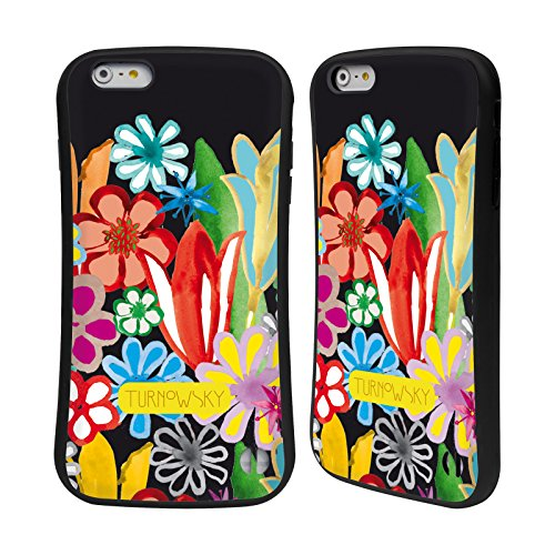 Ufficiale Turnowsky Modello Floreale 1 Fantasia 2 Case Ibrida per Apple iPhone 7 Plus / 8 Plus Modello Floreale 2