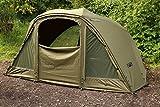 Fox Supa Brolly System 60' Karpfenzelt - Angelzelt zum Karpfenangeln, Anglerzelt, Schirmzelt, Zelt komplett