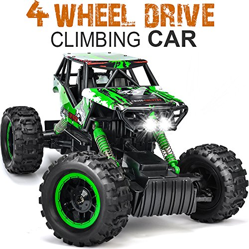 DOUBLE E RC Rock Crawler Remote Control Truck 4WD Rechargeable Vehicles Off-road Car