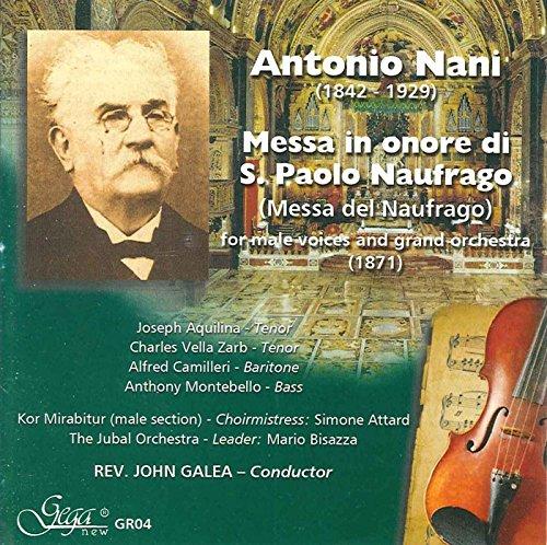 ANTONIO NANI – MESSA IN ONORE 61LN2I1nY0L