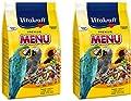 Vitakraft MENU LARGE PARROT AFRICAN GREY 1KG BIRD CAGE SEED FOOD X 2 from VITAKRAFT
