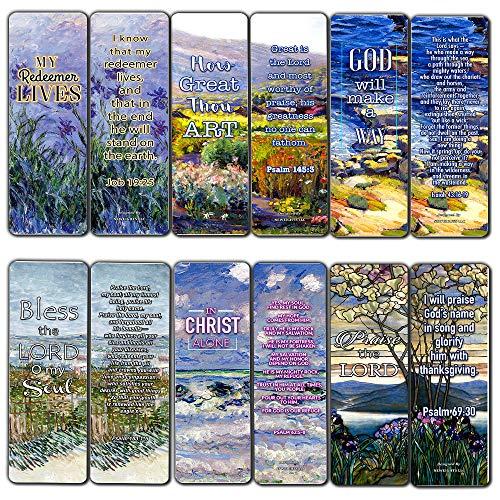 hen-Karten - in Christus Alone (12 Stück) - christliche Bibel-Themen-Kollektion & Geschenk mit inspirierenden, motivierenden, anregenden Botschaften ()