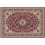 Alfombra Sitap diseño clásico oriental persa – Alfombra color rojo Hali 8745 – 014