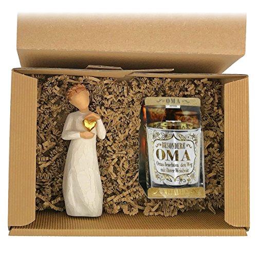 2-teiliges Geschenkset 'Besondere Oma' -