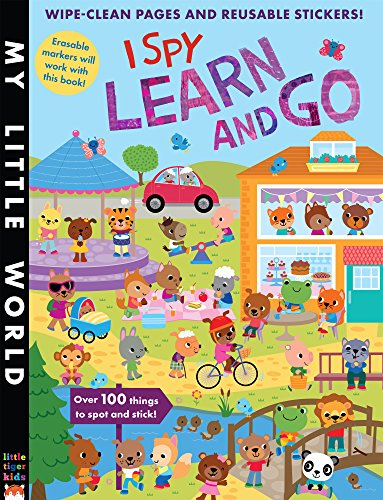 I Spy Learn and Go Cover Image