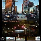 Ampulla Pluto Autokamera Dash Cam 2K Super HD 170 ° Weitwinkel 3 'LCD Auto Armaturenbrett Kamera mit Parkmodus, Super Nachtsicht, Bewegungserkennung, HDR (Deutsche elektronische Broschüre)