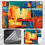 Abstract Painting Strokes Laptop Skin + ...