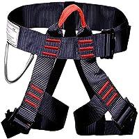 FAStar, arnés para escalada al aire libre la mitad cuerpo ajustable seguro cinturones para montañismo Fire Rescue, mujeres hombre niño medio cuerpo arnés de escalada