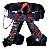 Escalada arnés proteger pierna cintura más seguro cinturones para montañismo exterior Fire...