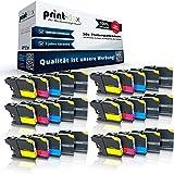 30x kompatible Tintenpatronen für Brother LC121 LC123 MFC J470DW MFC J475DW MFC J650DW MFC J870DW MFC J875DW MFC J970DW - Sparpack - Office Line Serie